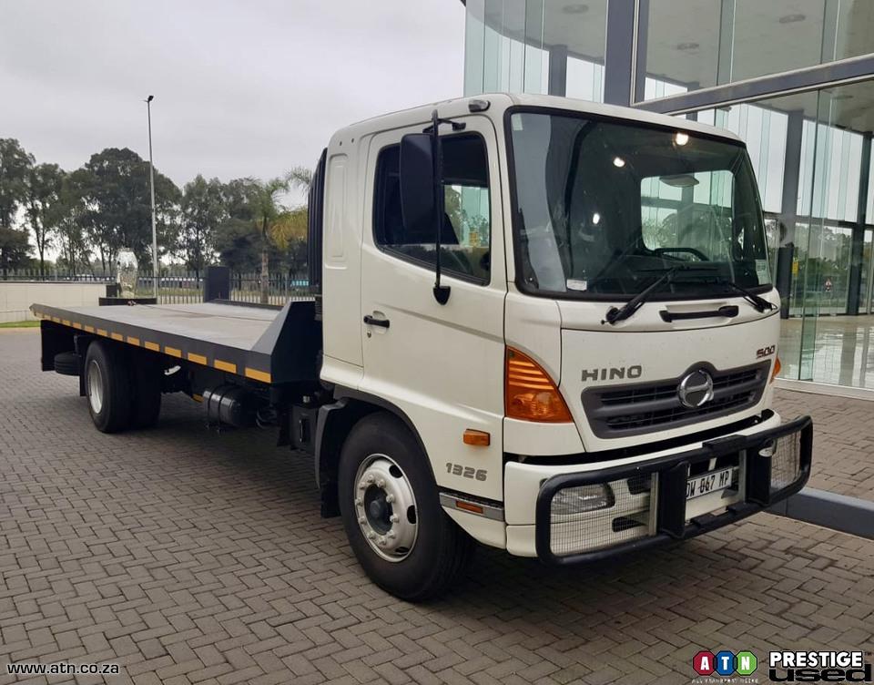2017 HINO 500 1326 (AU5) Roll Back Truck Rigid